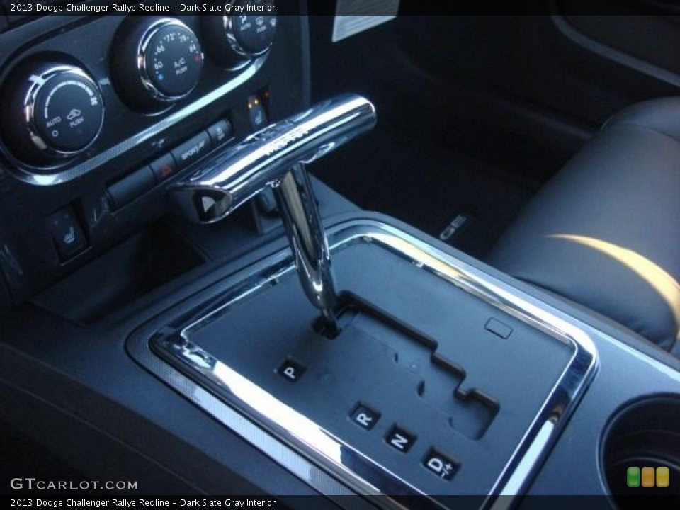 Dark Slate Gray Interior Transmission for the 2013 Dodge Challenger Rallye Redline #74335642