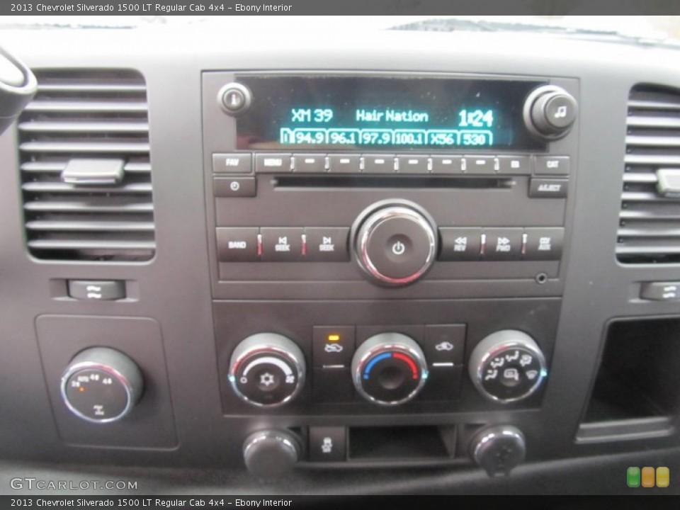 Ebony Interior Audio System for the 2013 Chevrolet Silverado 1500 LT Regular Cab 4x4 #74516906