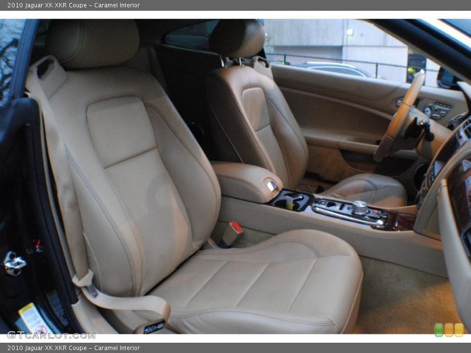Caramel Interior Photo for the 2010 Jaguar XK XKR Coupe #74553041