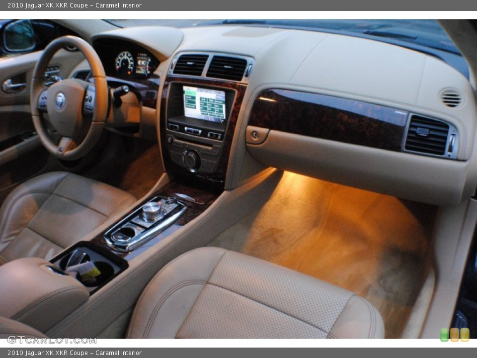 Caramel Interior Dashboard for the 2010 Jaguar XK XKR Coupe #74553062