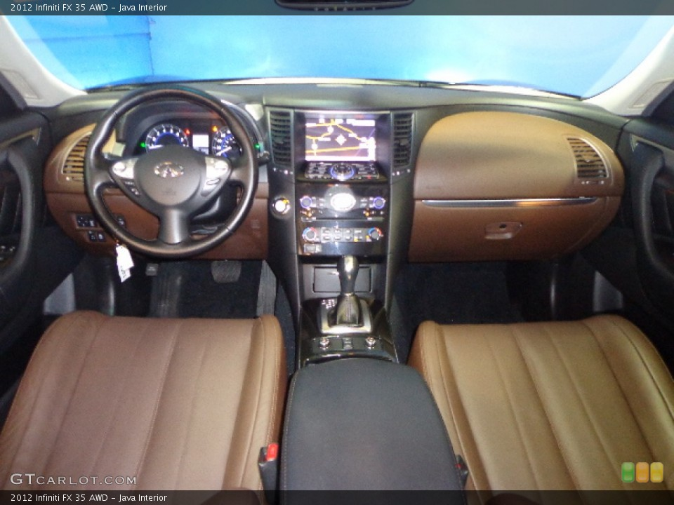 Java Interior Dashboard for the 2012 Infiniti FX 35 AWD #74621627