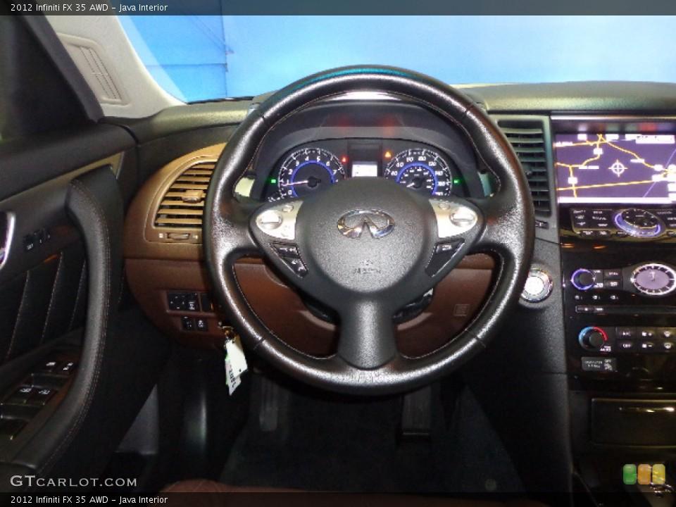 Java Interior Steering Wheel for the 2012 Infiniti FX 35 AWD #74621633