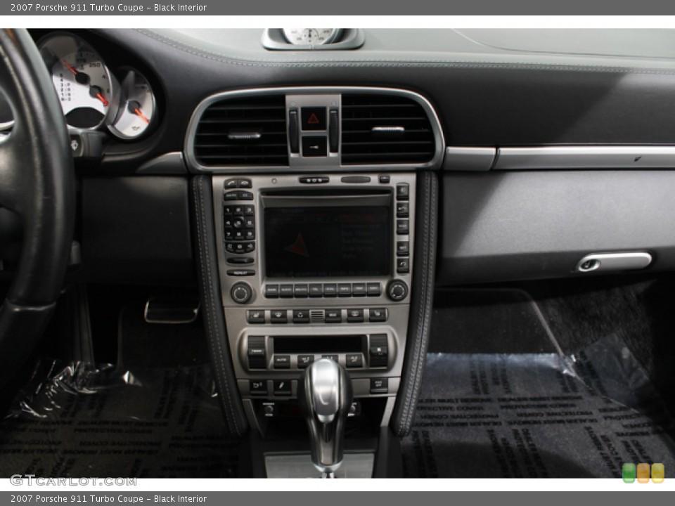 Black Interior Controls for the 2007 Porsche 911 Turbo Coupe #74633253