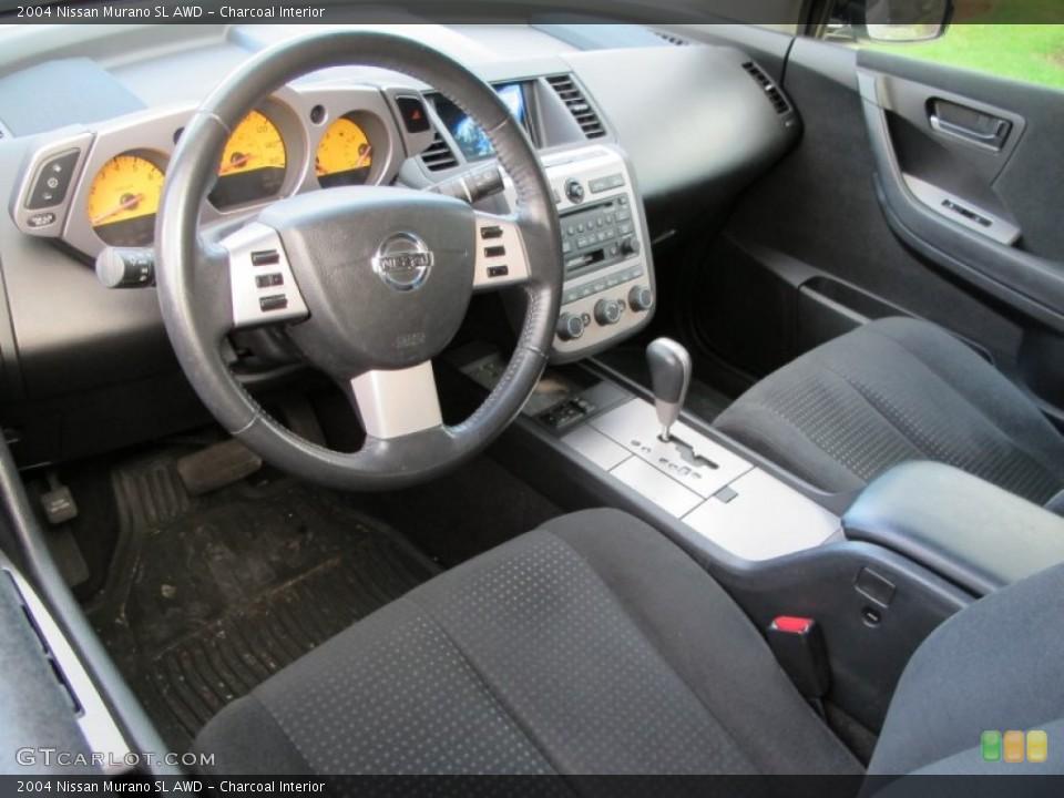 Charcoal 2004 Nissan Murano Interiors