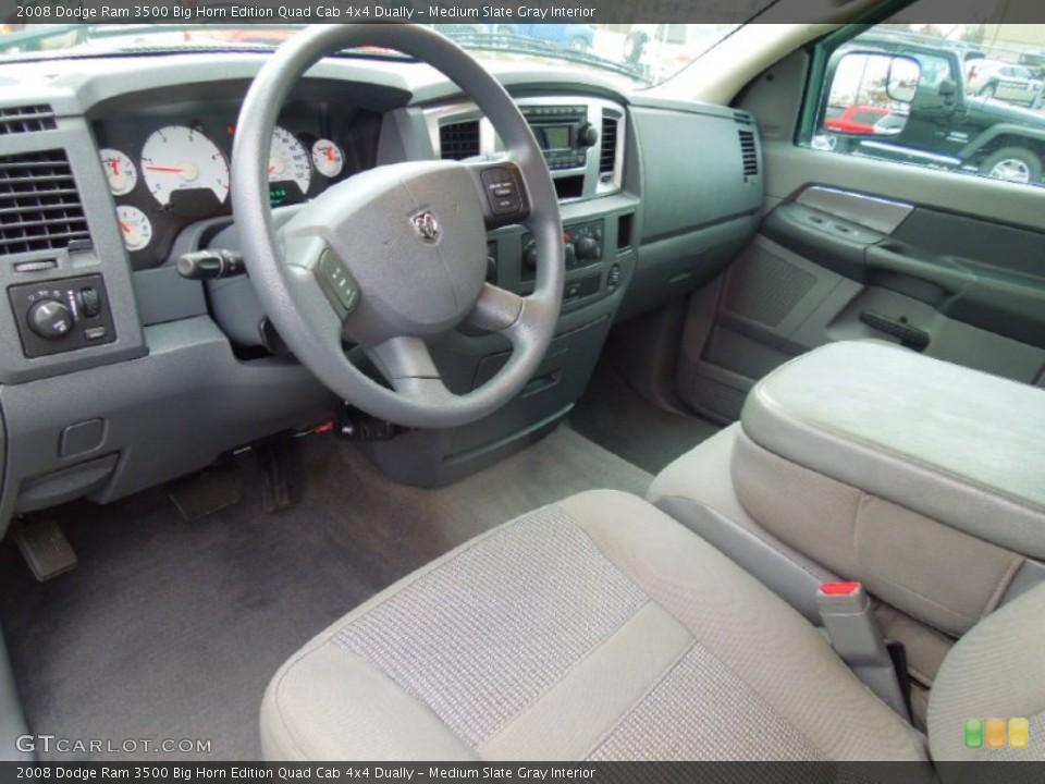 Medium Slate Gray Interior Prime Interior for the 2008 Dodge Ram 3500 Big Horn Edition Quad Cab 4x4 Dually #74700048
