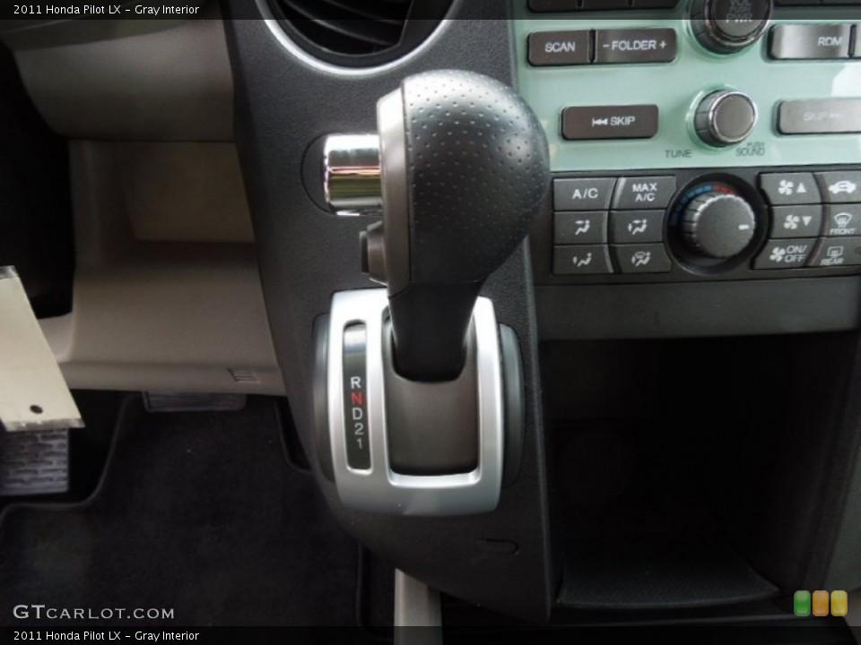 Gray Interior Transmission for the 2011 Honda Pilot LX #74768547