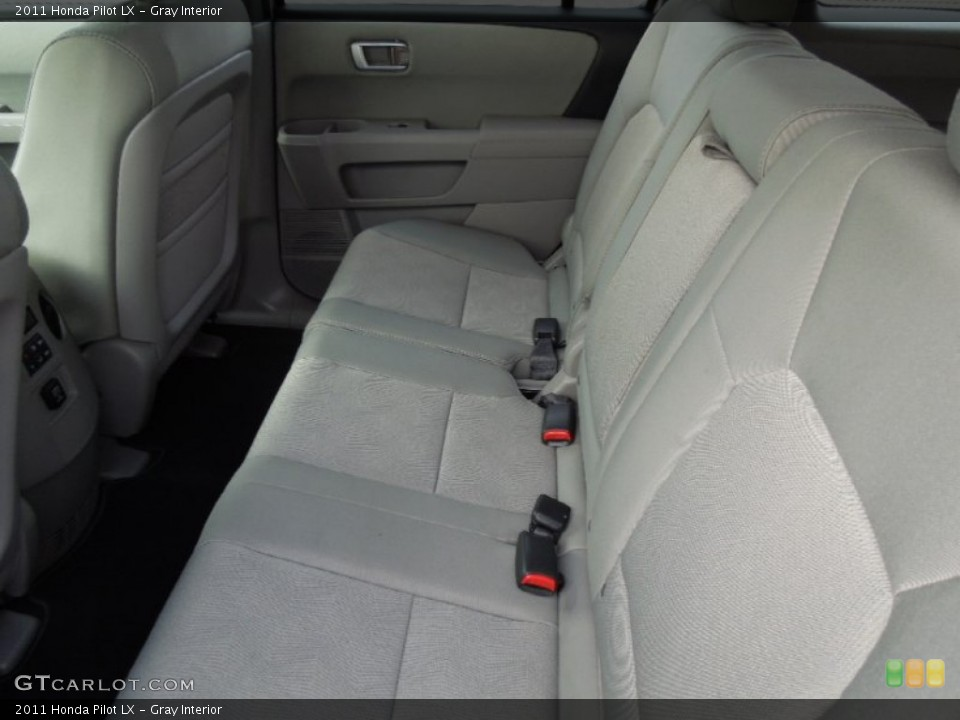 Gray Interior Rear Seat for the 2011 Honda Pilot LX #74768621