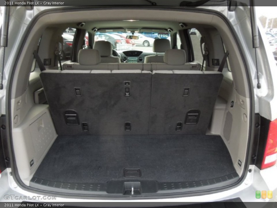 Gray Interior Trunk for the 2011 Honda Pilot LX #74768661