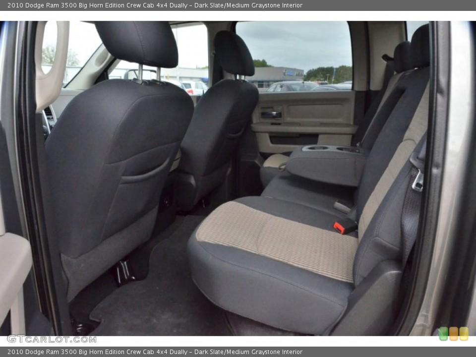 Dark Slate/Medium Graystone Interior Rear Seat for the 2010 Dodge Ram 3500 Big Horn Edition Crew Cab 4x4 Dually #74936682