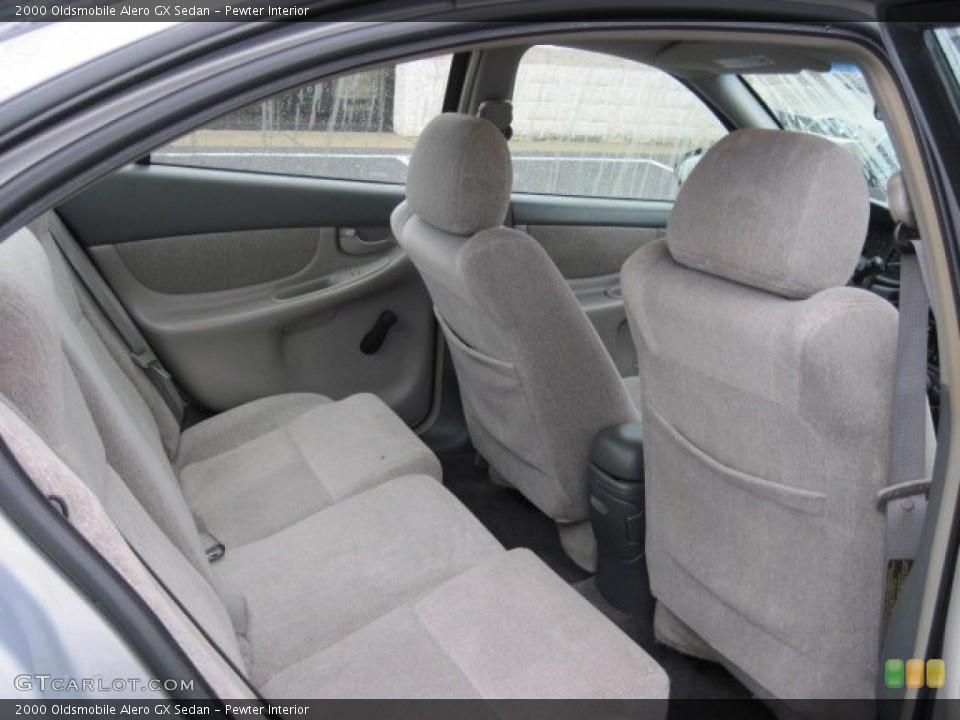 Pewter 2000 Oldsmobile Alero Interiors