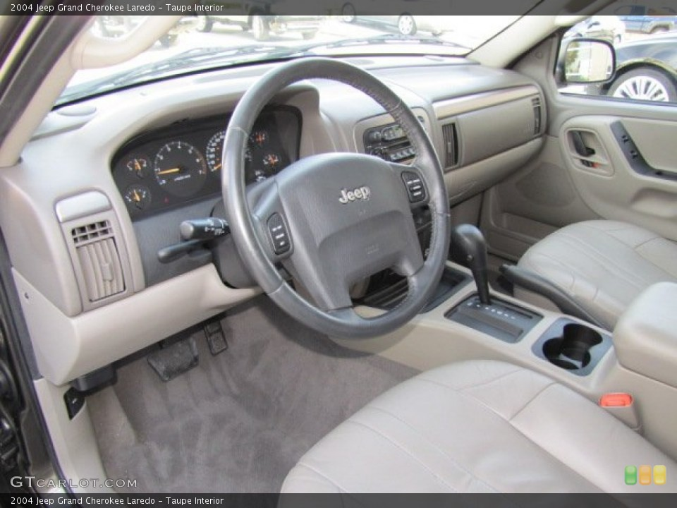 Interior Pictures of 2004 Jeep Grand Cherokee Taupe 2004 Jeep Grand Cherokee