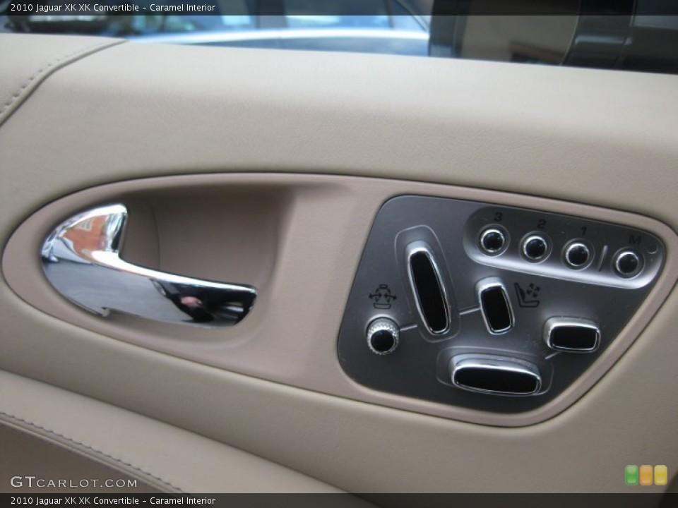 Caramel Interior Controls for the 2010 Jaguar XK XK Convertible #75208566