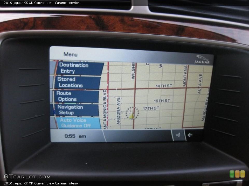 Caramel Interior Navigation for the 2010 Jaguar XK XK Convertible #75208640