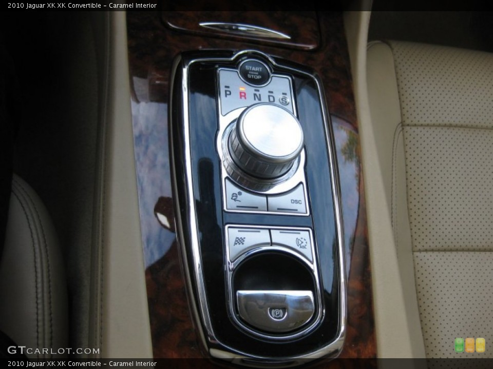 Caramel Interior Transmission for the 2010 Jaguar XK XK Convertible #75208652