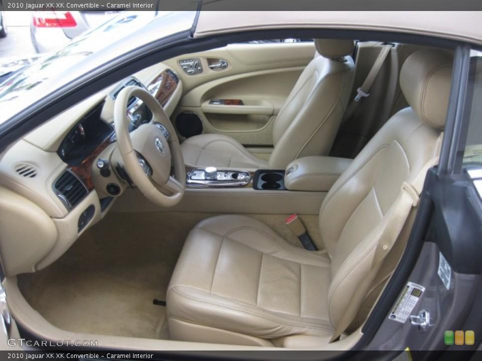 Caramel Interior Photo for the 2010 Jaguar XK XK Convertible #75208728