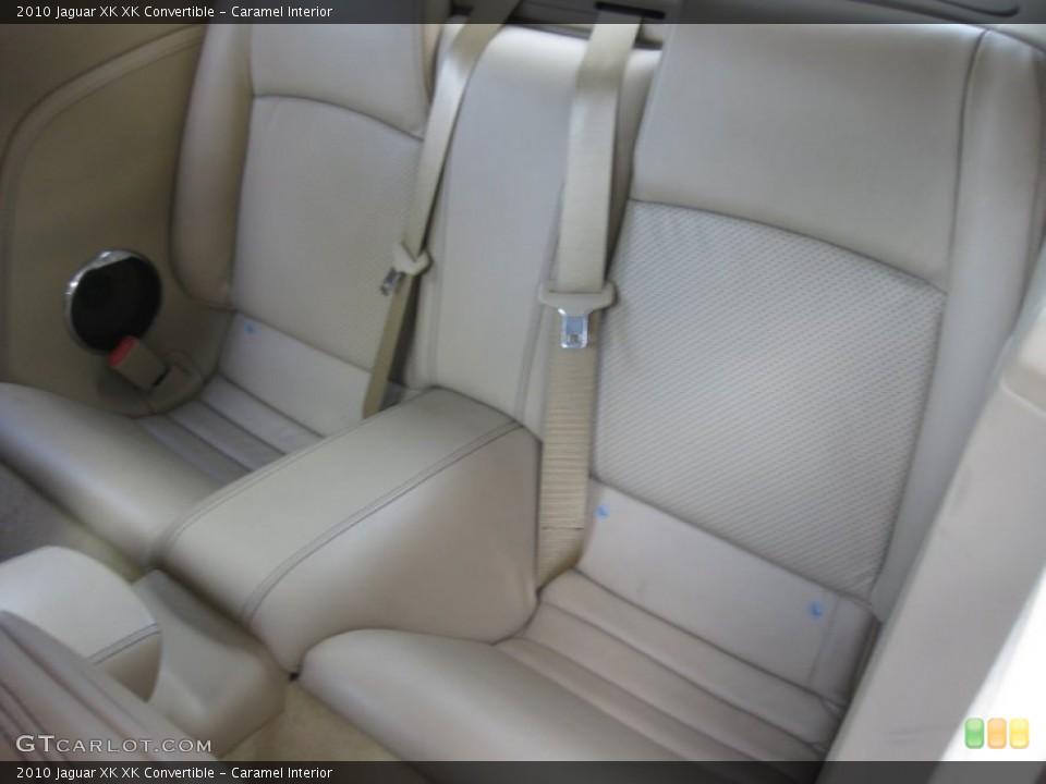 Caramel Interior Rear Seat for the 2010 Jaguar XK XK Convertible #75208740