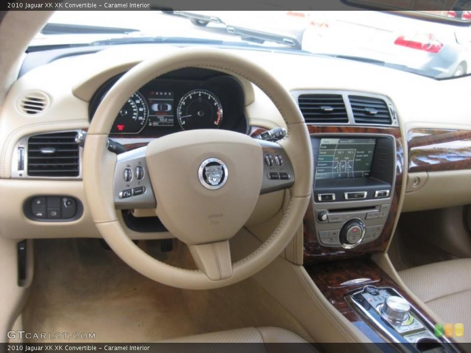 Caramel Interior Dashboard for the 2010 Jaguar XK XK Convertible #75208764