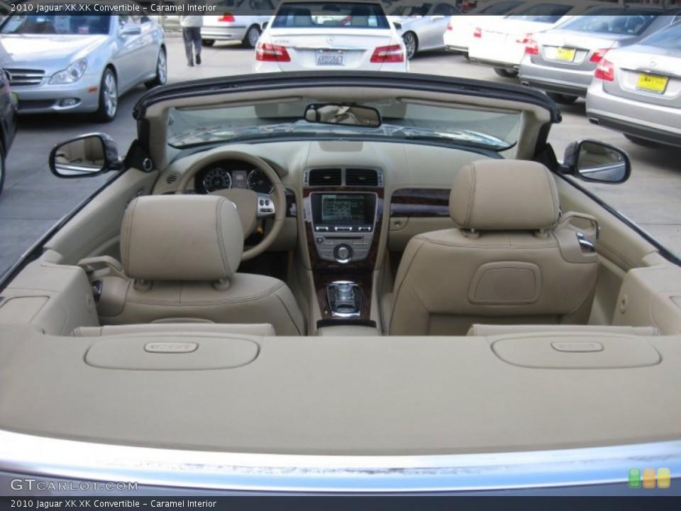 Caramel Interior Photo for the 2010 Jaguar XK XK Convertible #75208857