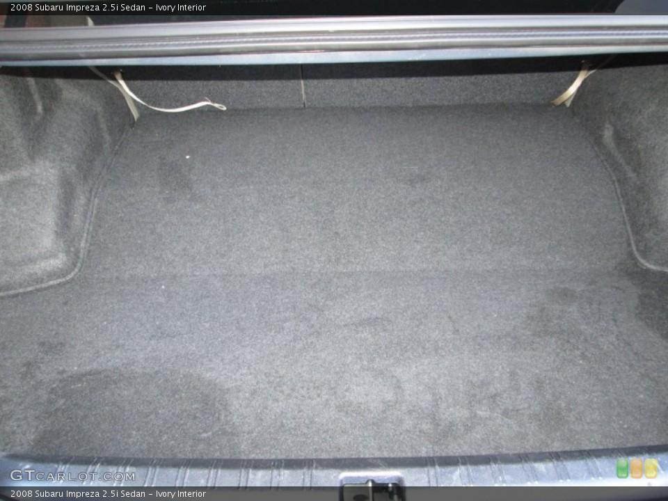 Ivory Interior Trunk for the 2008 Subaru Impreza 2.5i Sedan #75239895
