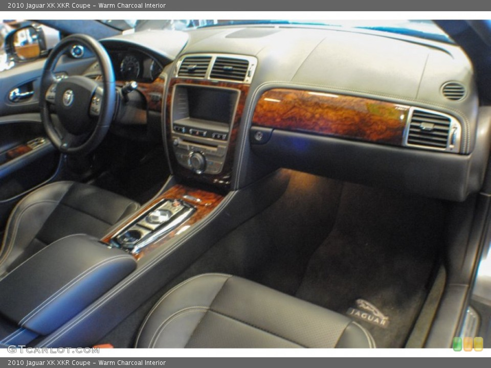 Warm Charcoal Interior Dashboard for the 2010 Jaguar XK XKR Coupe #75434910