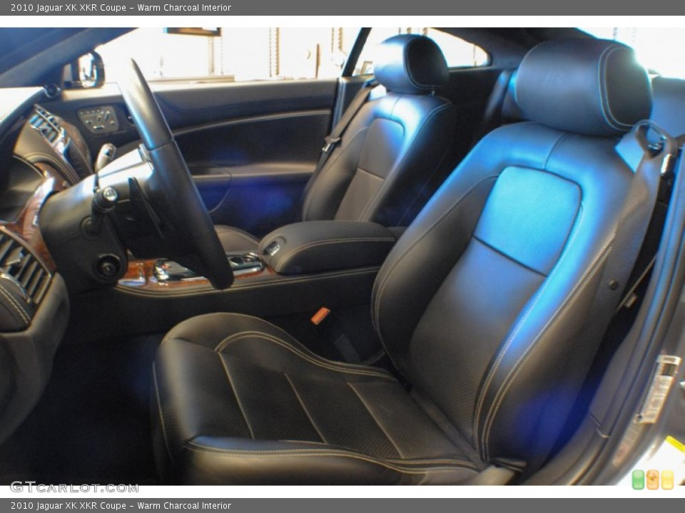 Warm Charcoal Interior Front Seat for the 2010 Jaguar XK XKR Coupe #75434933