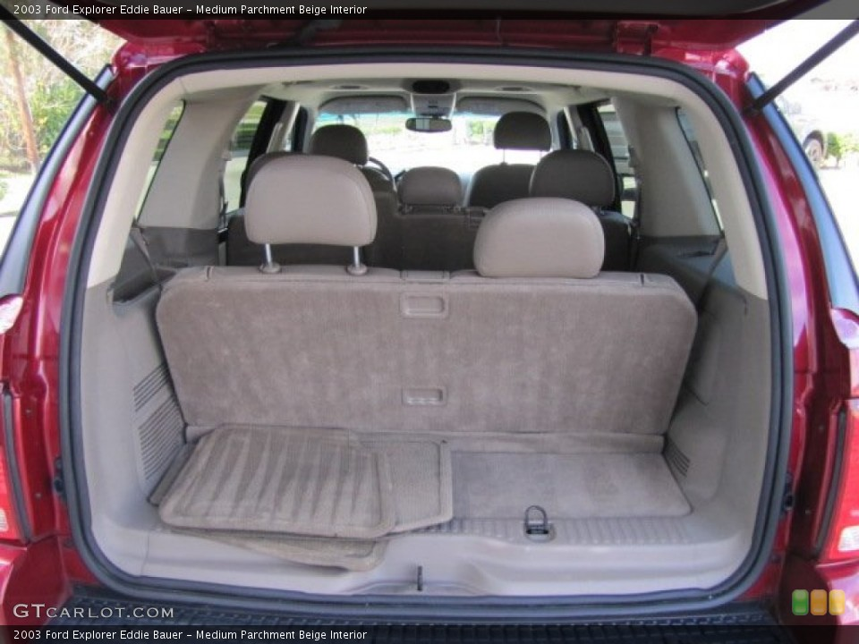 Medium Parchment Beige Interior Trunk for the 2003 Ford Explorer Eddie Bauer #75447041