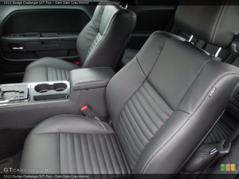 Dark Slate Gray Interior Front Seat for the 2013 Dodge Challenger SXT Plus #75459051
