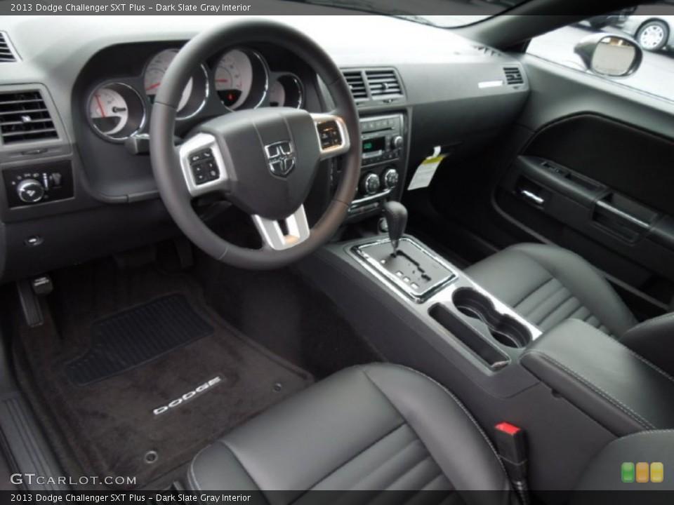 Dark Slate Gray Interior Prime Interior for the 2013 Dodge Challenger SXT Plus #75459431