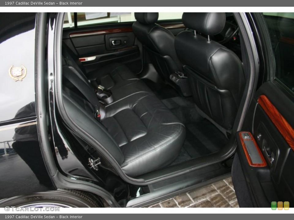 Black 1997 Cadillac DeVille Interiors