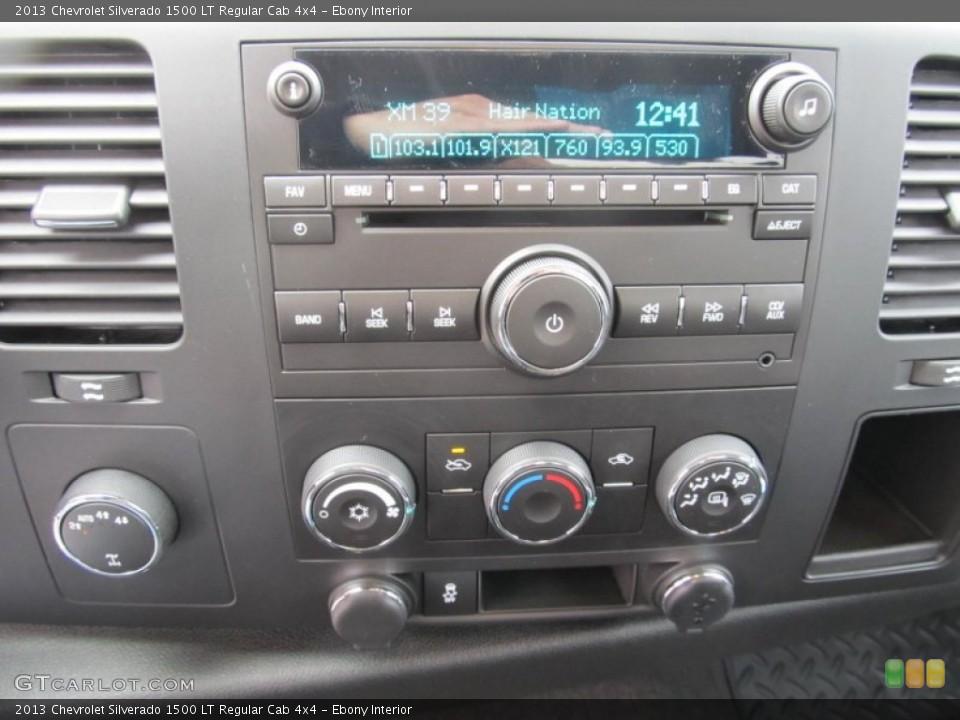 Ebony Interior Controls for the 2013 Chevrolet Silverado 1500 LT Regular Cab 4x4 #75467996