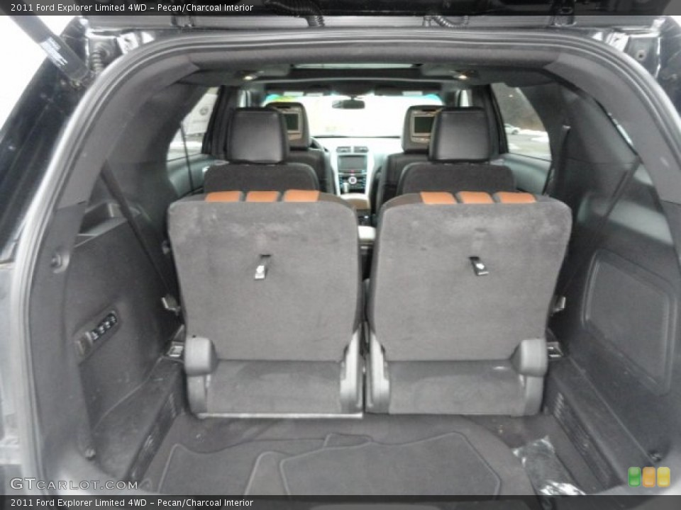 Pecan/Charcoal Interior Trunk for the 2011 Ford Explorer Limited 4WD #75602165