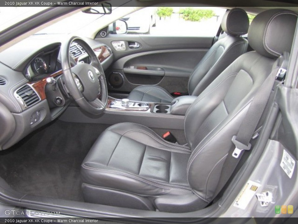 Warm Charcoal Interior Prime Interior for the 2010 Jaguar XK XK Coupe #75632242