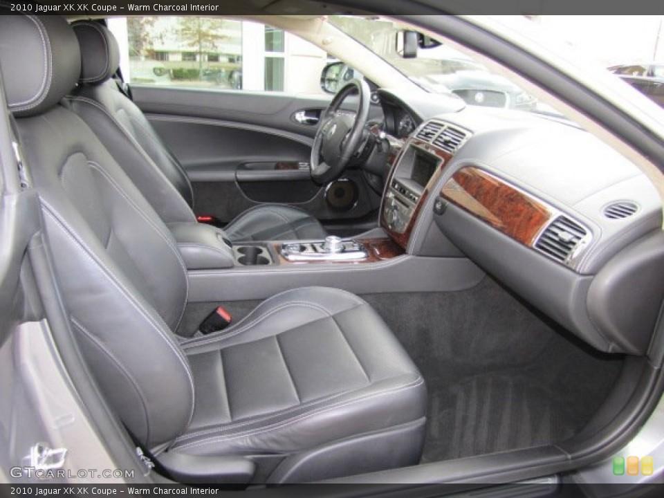 Warm Charcoal Interior Photo for the 2010 Jaguar XK XK Coupe #75632277
