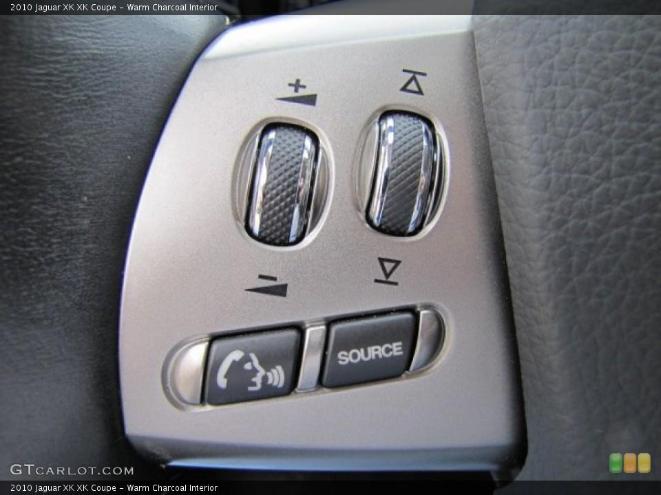 Warm Charcoal Interior Controls for the 2010 Jaguar XK XK Coupe #75632502