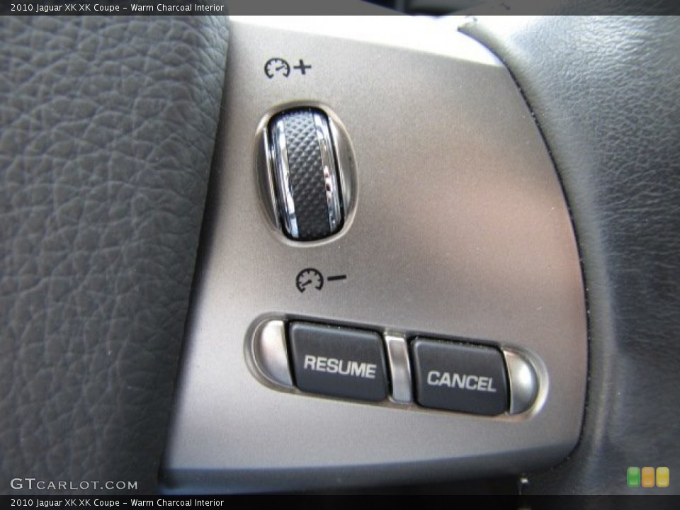 Warm Charcoal Interior Controls for the 2010 Jaguar XK XK Coupe #75632511