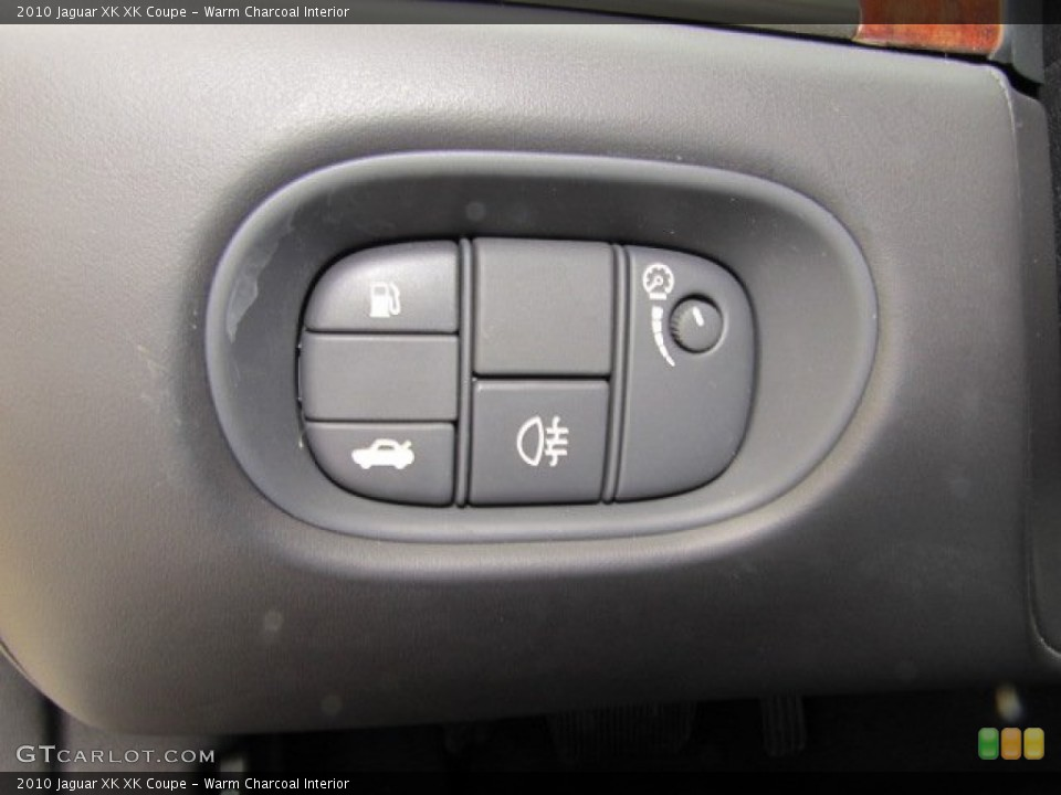 Warm Charcoal Interior Controls for the 2010 Jaguar XK XK Coupe #75632780