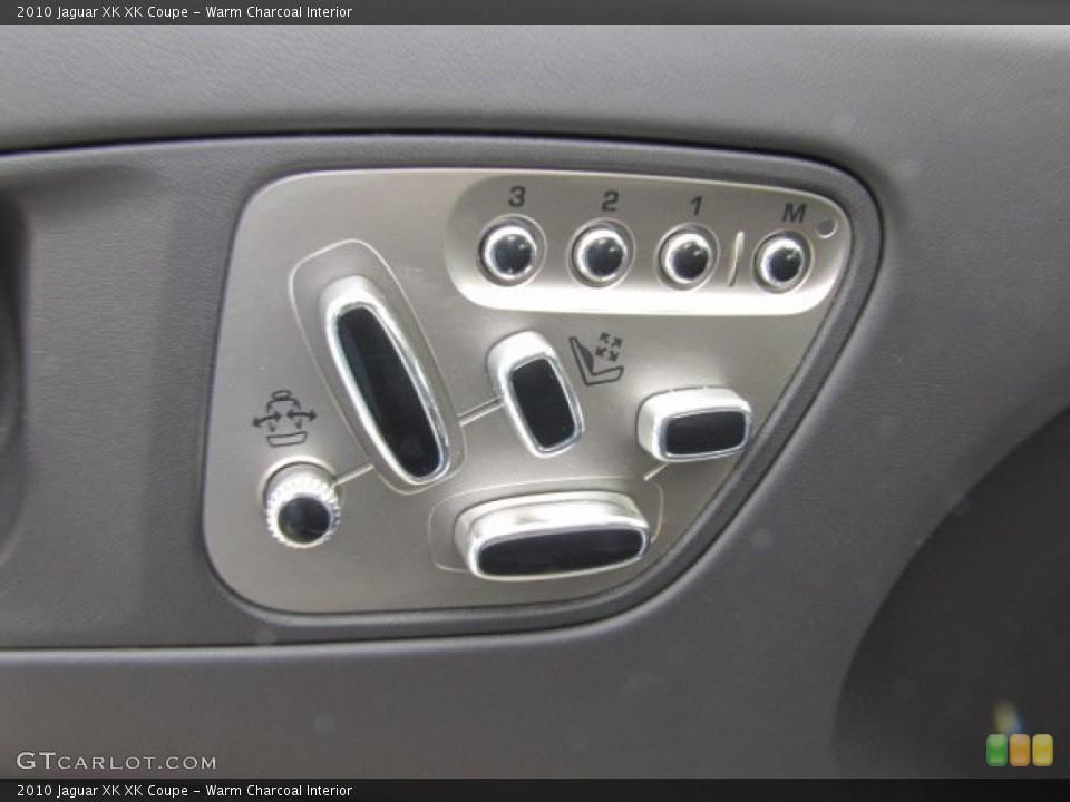 Warm Charcoal Interior Controls for the 2010 Jaguar XK XK Coupe #75632871