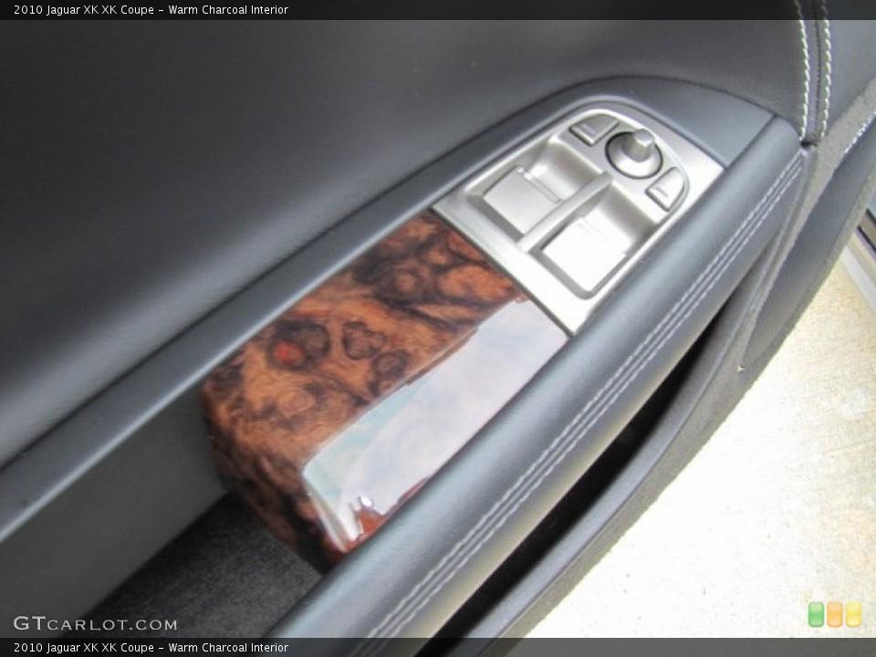 Warm Charcoal Interior Controls for the 2010 Jaguar XK XK Coupe #75632887