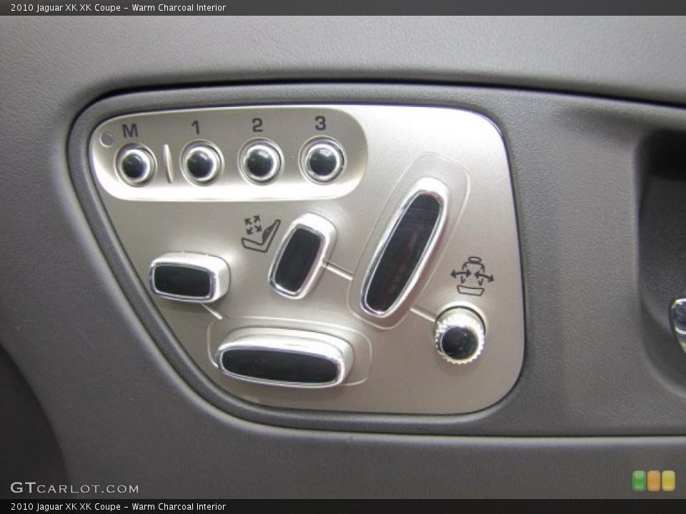 Warm Charcoal Interior Controls for the 2010 Jaguar XK XK Coupe #75632921