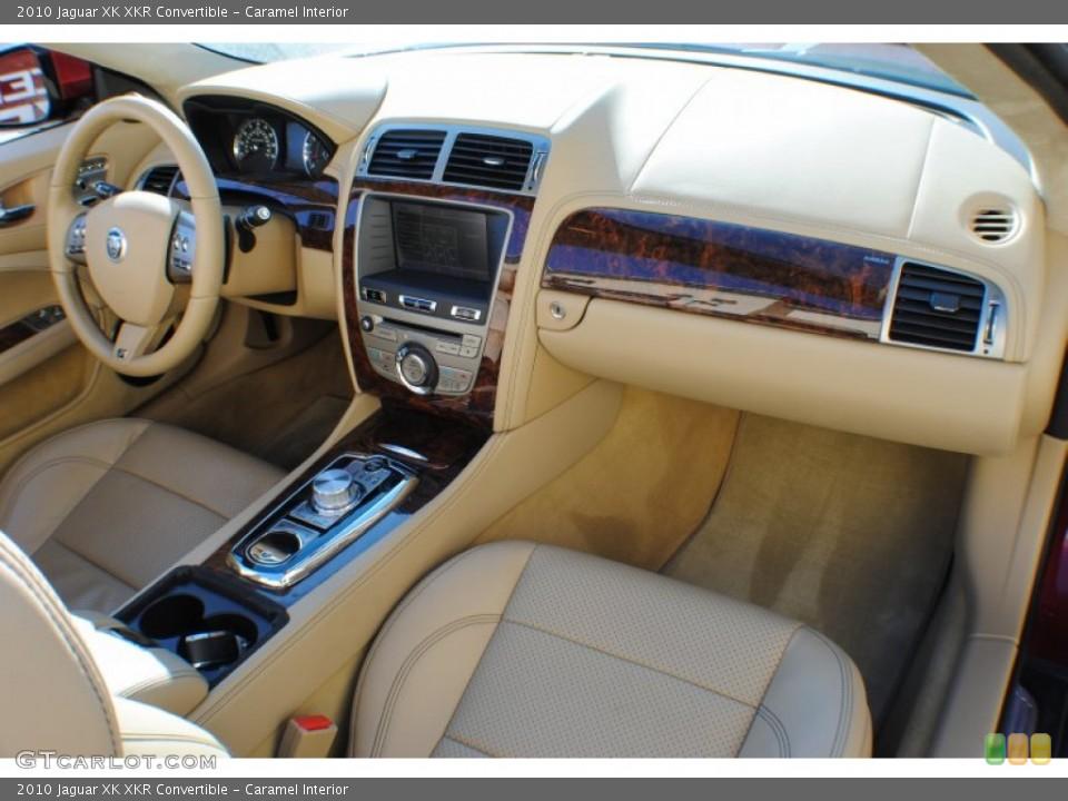 Caramel Interior Dashboard for the 2010 Jaguar XK XKR Convertible #75647991