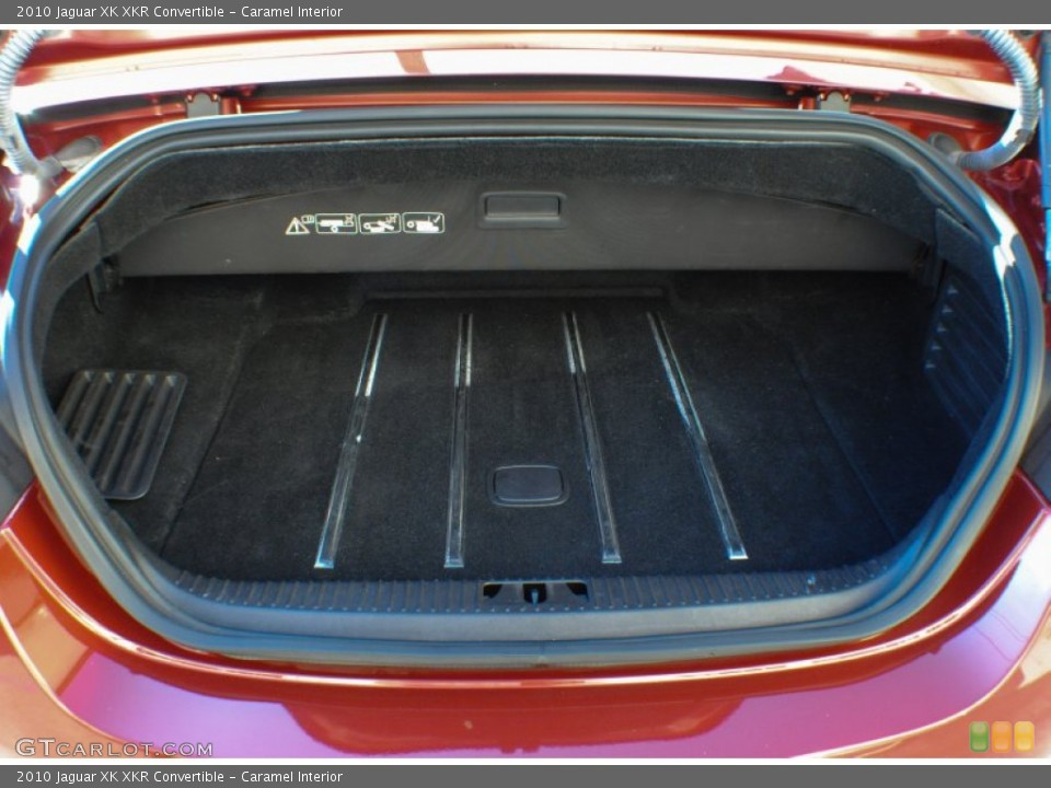 Caramel Interior Trunk for the 2010 Jaguar XK XKR Convertible #75648018