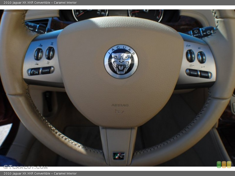 Caramel Interior Controls for the 2010 Jaguar XK XKR Convertible #75648165