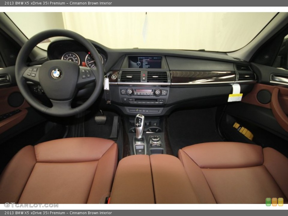 Cinnamon Brown Interior Dashboard for the 2013 BMW X5 xDrive 35i Premium #75685211  GTCarLot.com