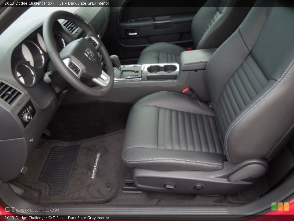 Dark Slate Gray Interior Photo for the 2013 Dodge Challenger SXT Plus #75761927