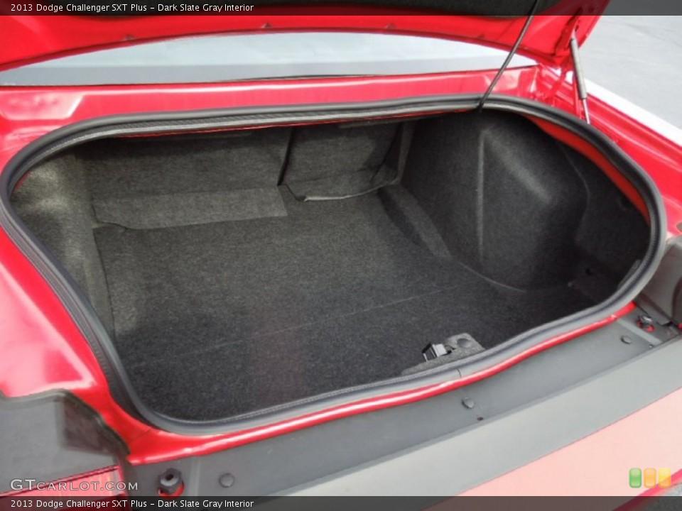 Dark Slate Gray Interior Trunk for the 2013 Dodge Challenger SXT Plus #75762152