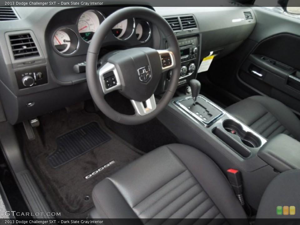 Dark Slate Gray Interior Prime Interior for the 2013 Dodge Challenger SXT #75762779