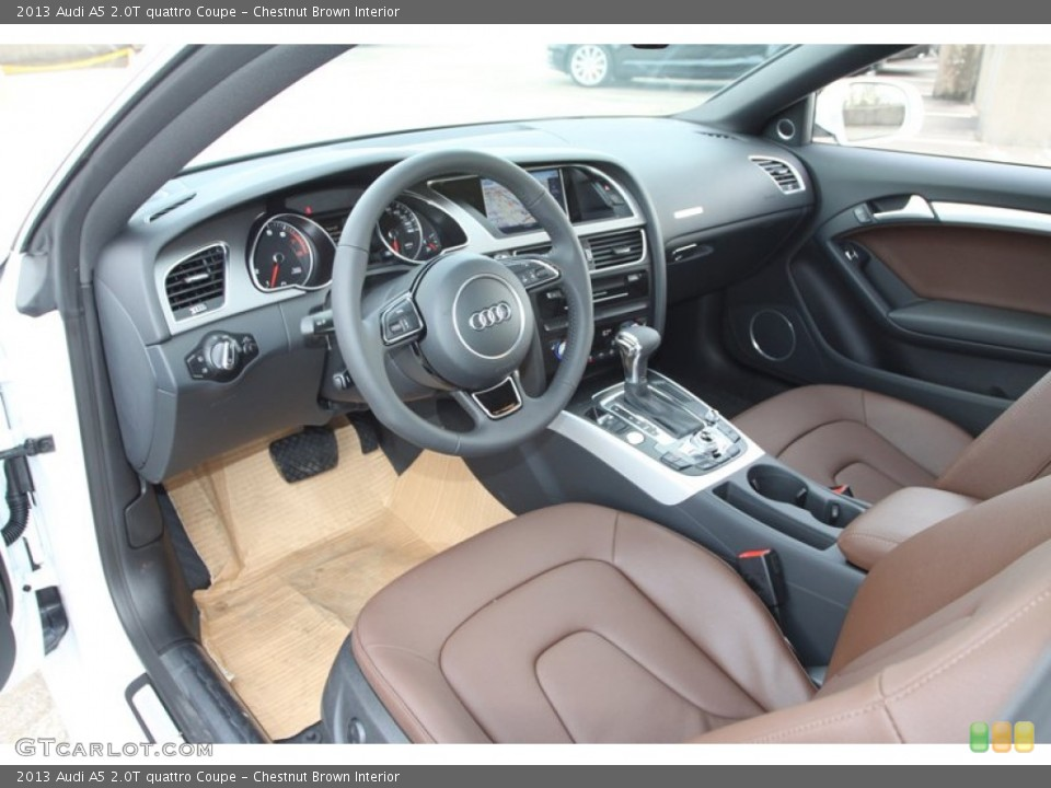2013 Audi A5 Brown Interior Images & Pictures - Becuo