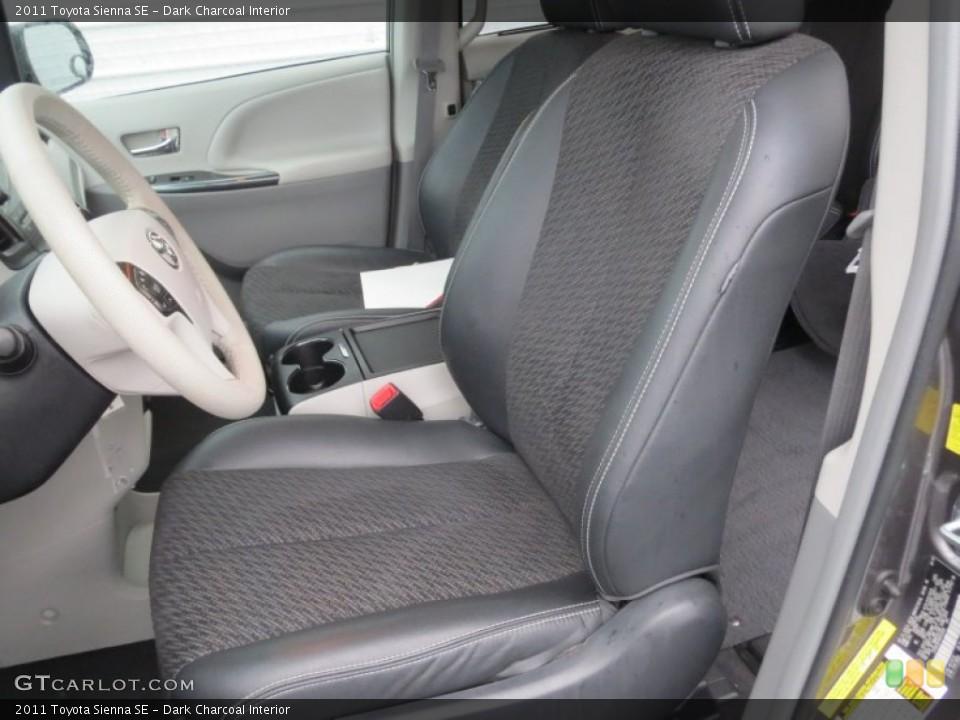 Dark Charcoal 2011 Toyota Sienna Interiors