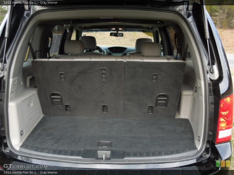 Gray Interior Trunk for the 2011 Honda Pilot EX-L #75774896