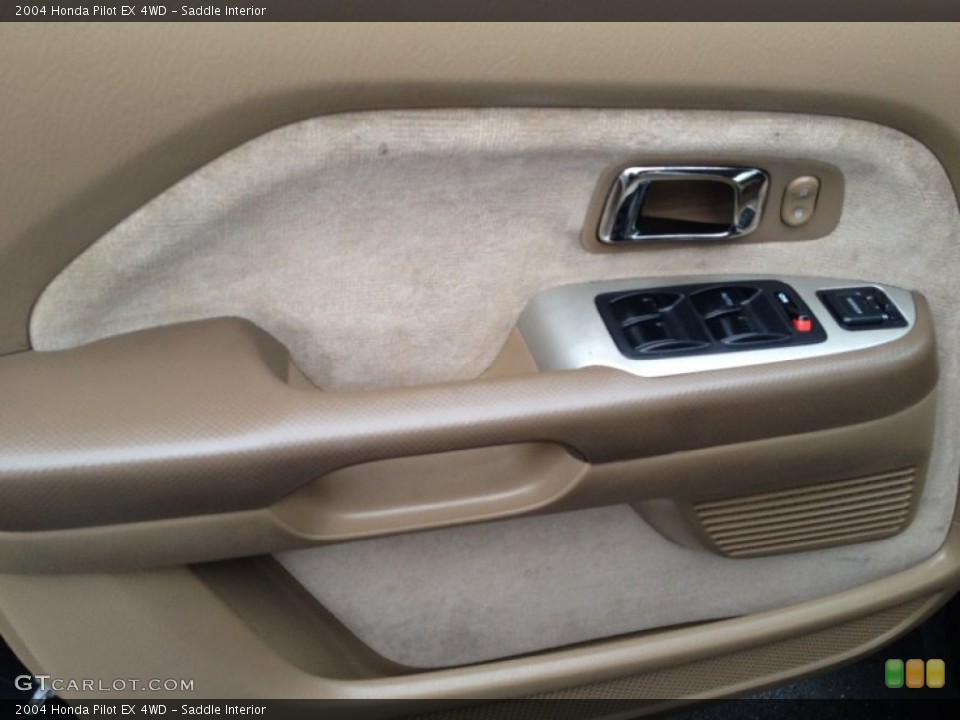 Saddle Interior Door Panel for the 2004 Honda Pilot EX 4WD #75797005